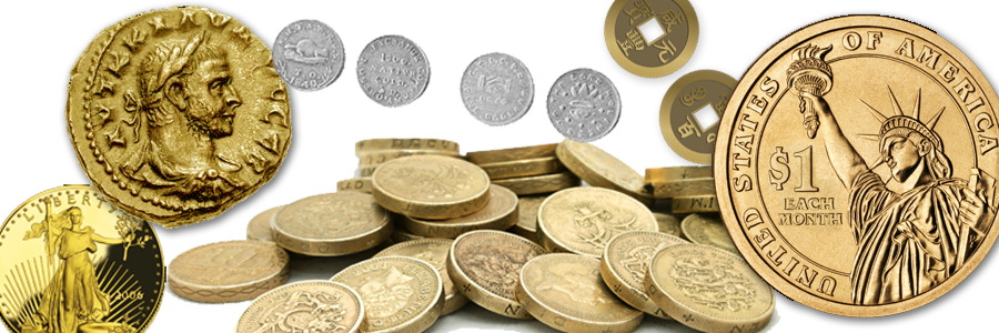 Donate Coin Collection - Currency and Coins - Charity Donations